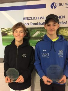 Moritz Anterist und Noah Müller